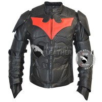 Batman Beyond Leather Jacket-New Batman Moto leather Jacket